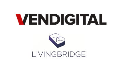 Venditigal and livingbridge logos
