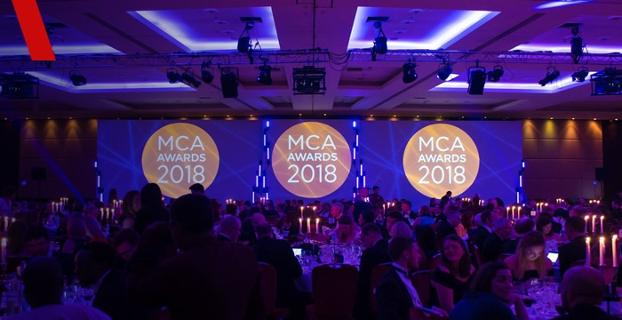 Vendigital a double finalist and sponsor at the MCA Awards 2018