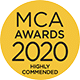 MCA Awards 2020 logo