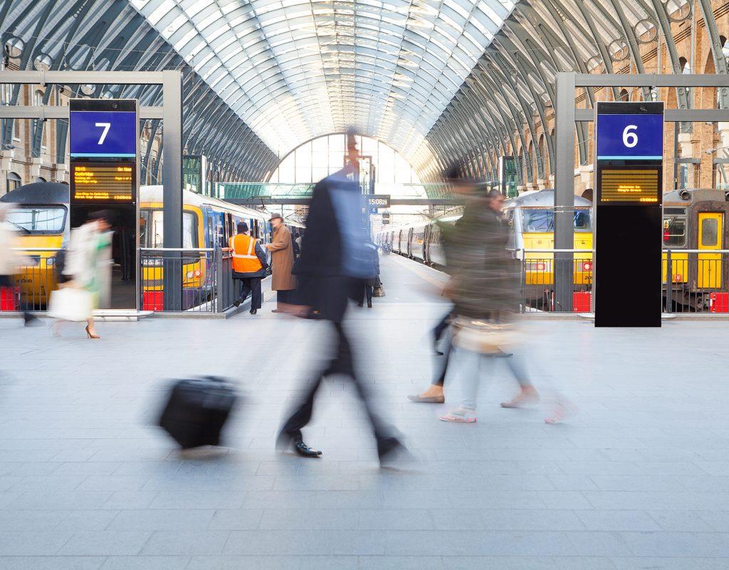 Train Station UK
